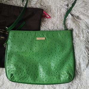 Kate spade crossbody exotic leather bag